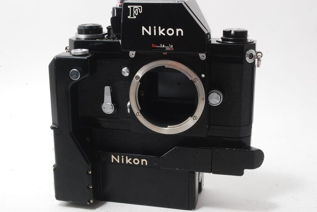 Nikon F black フォトミックファインダー + モータードライブF-36